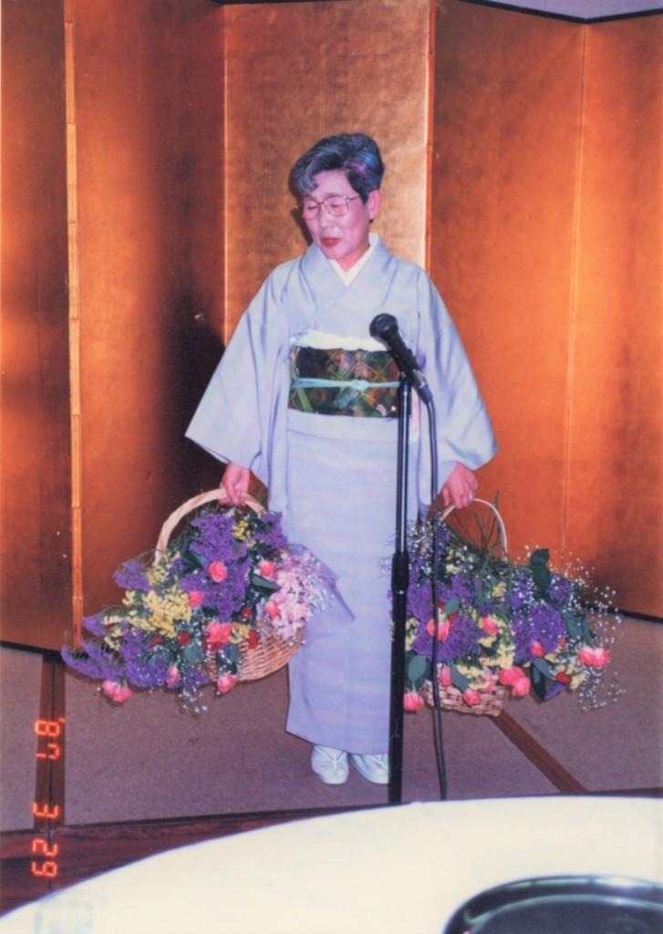 Yamahara-san photo at the retirement party