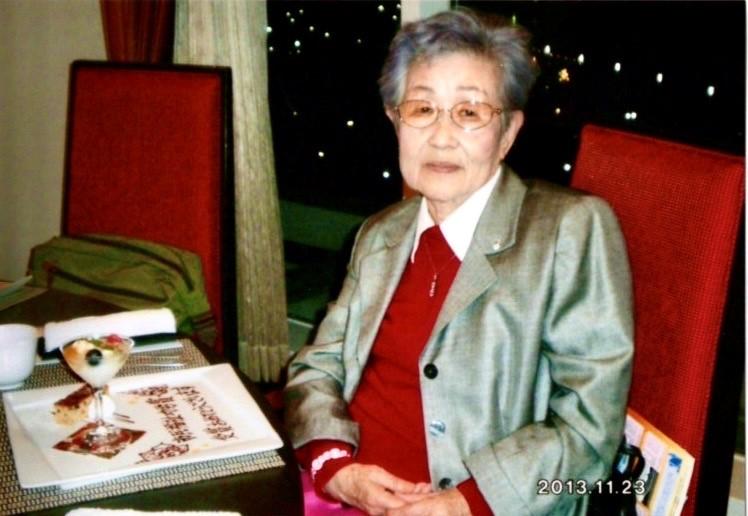 Yamahara-san photo at the Kobe Citizens Award