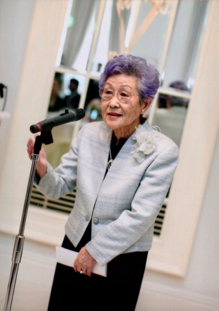 photo of Yamahara-san speeching