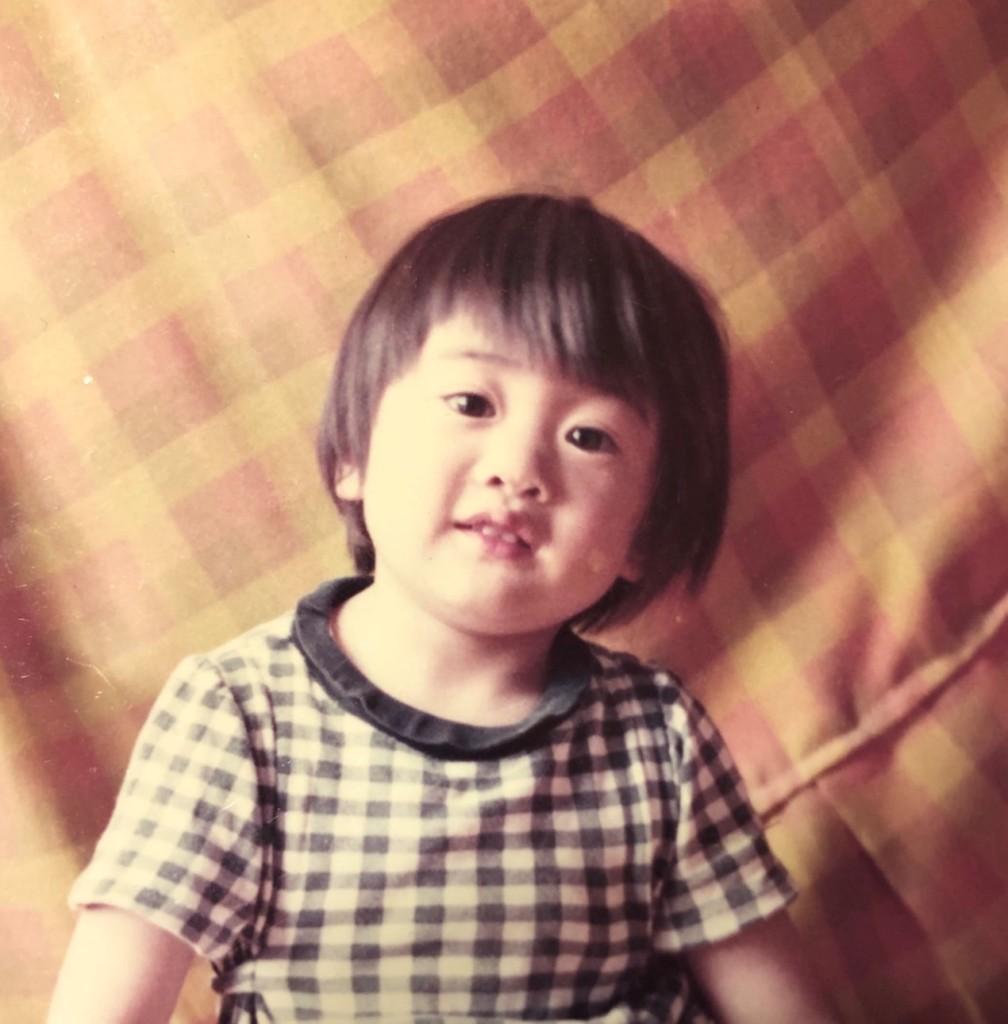 TON-san photo in childhood