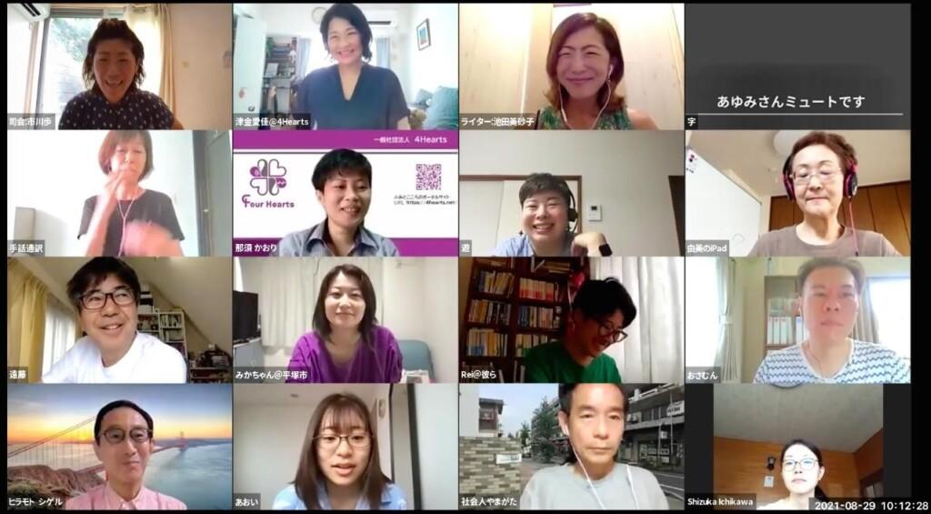 Video conferencing photos using subtitles